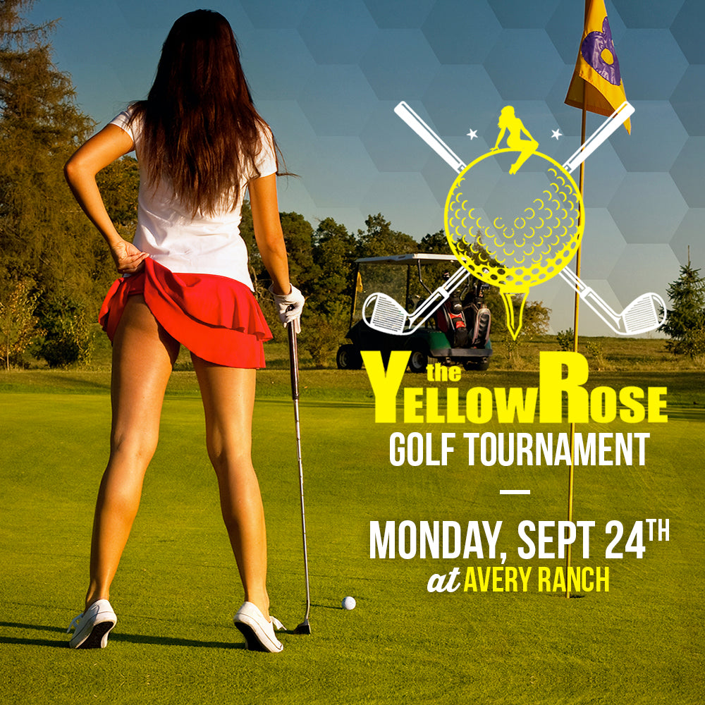 Yellow Rose Golf Tournament - TEAM + SPONSOR PACKAGE