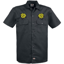 Dickies Yellow 'Rose' Short Sleeve Shirt