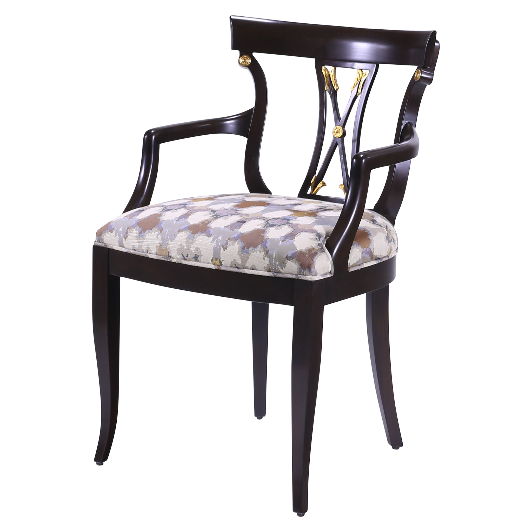 AUSTRIAN BIEDERMEIER STYLEARROWBACK ARMCHAIR – William Switzer