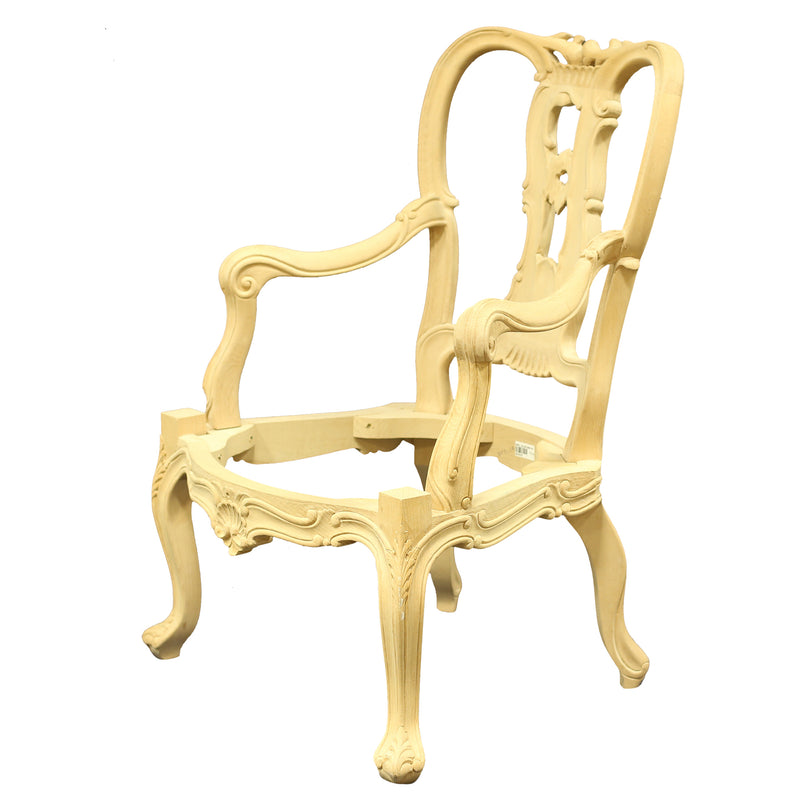 THE WILLIAM BESON ARMCHAIR RAW FRAME