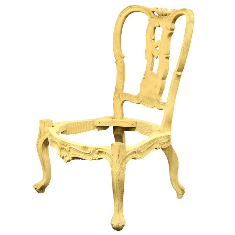 THE WILLIAM BESON SIDE CHAIR RAW FRAME