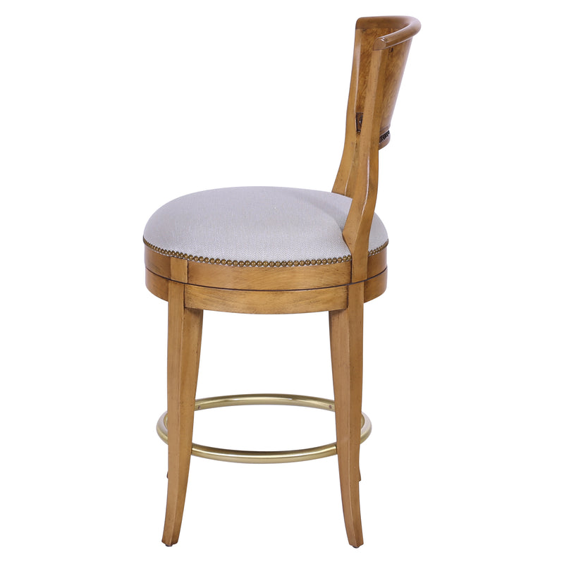 BIEDERMEIER SWIVEL COUNTER STOOL