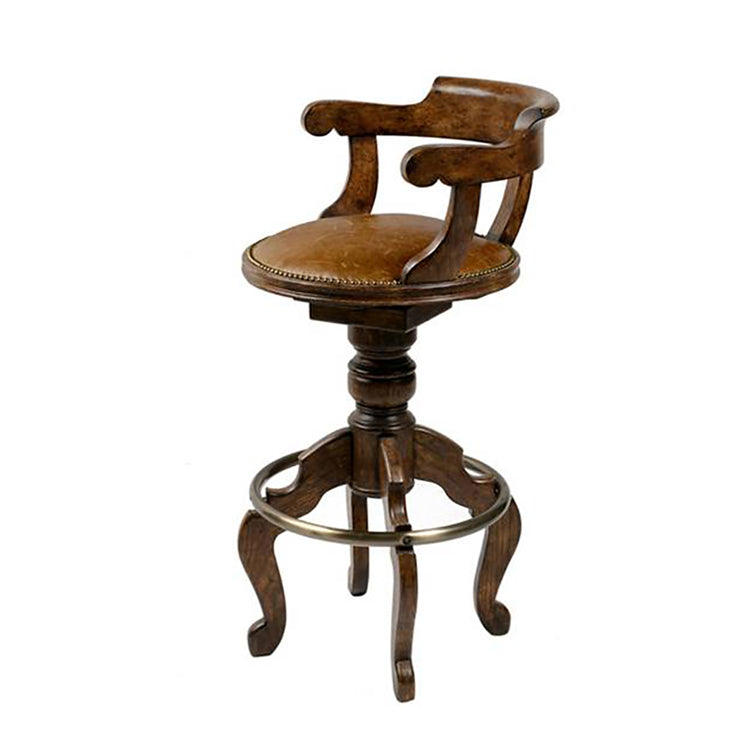 FRENCH SWIVEL BAR STOOL