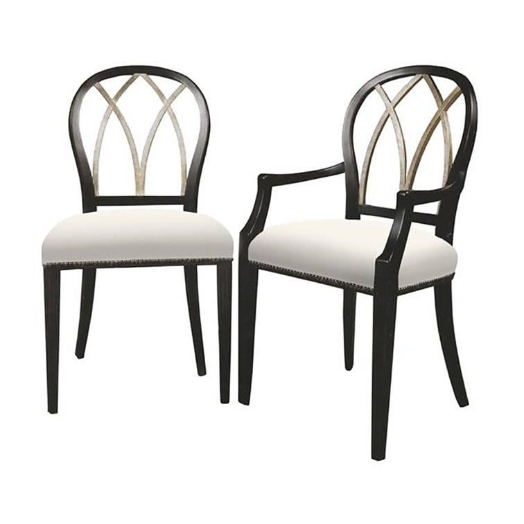 GOTHIC BACK SIDE CHAIR