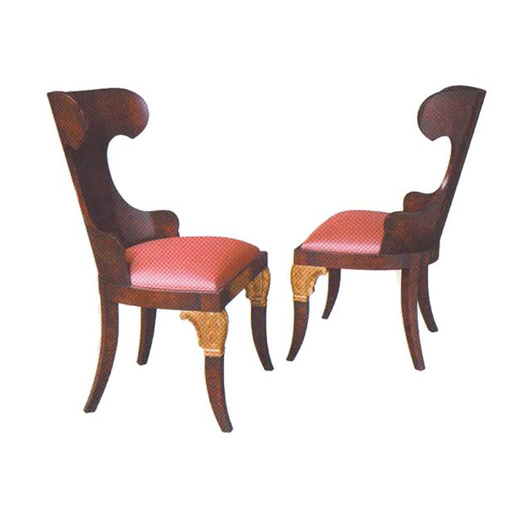RUSSIAN BEIDERMEIER CHAIR