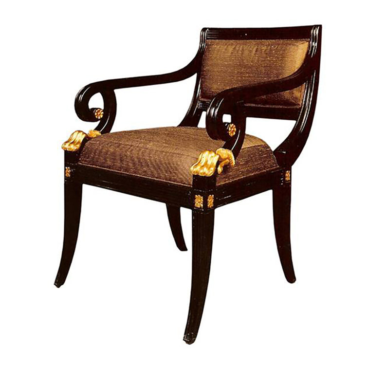 ENGLISH REGENCY ARMCHAIR