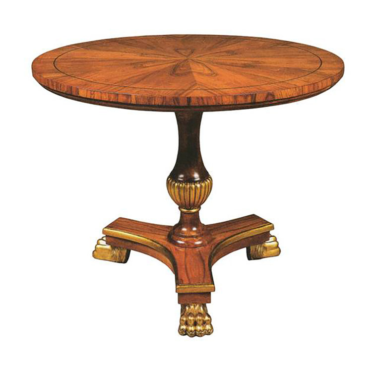 FRENCH EMPIRE END TABLE