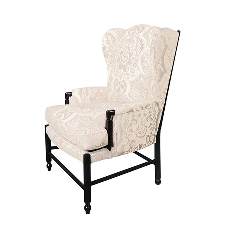 BELLE PROVENCE COUNTRY FRENCH LADDERBACK CHAIR WING BACK STYLE