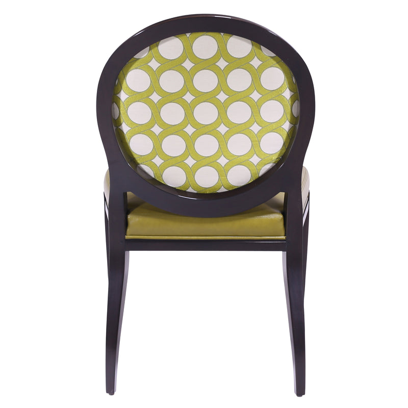 FAUTEUIL DISCOIDAL DINING SIDE CHAIR