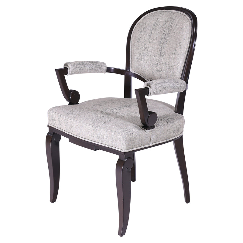 ART DECO DINING ARMCHAIR