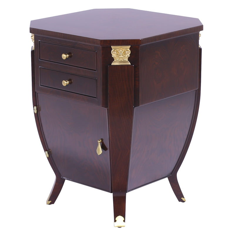 LARGE BOMBE NIGHT STAND