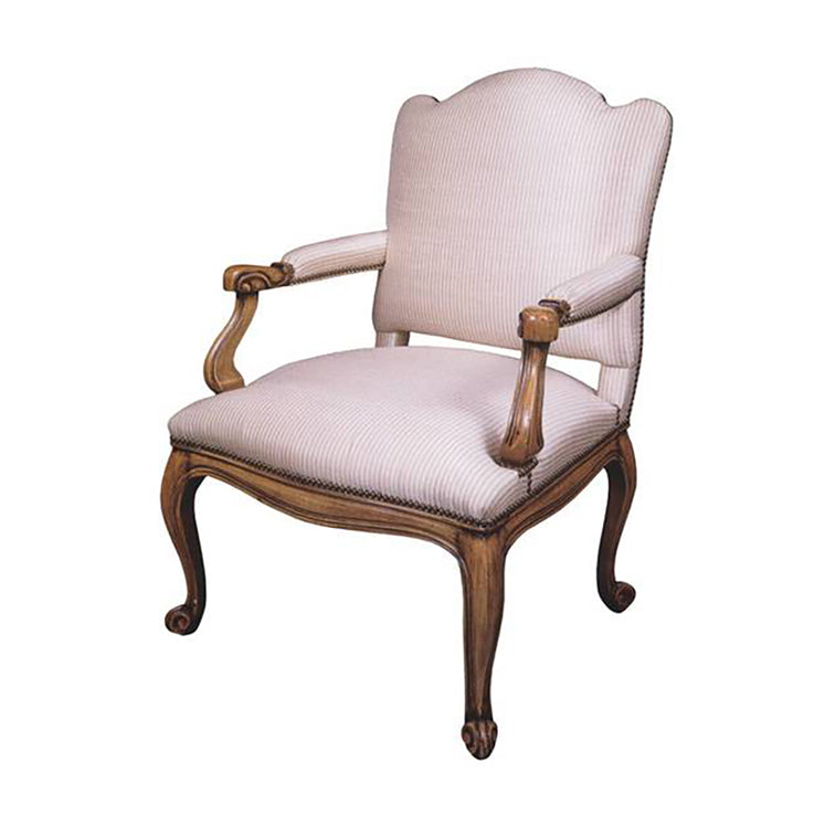 HAND CARVED ARMCHAIR