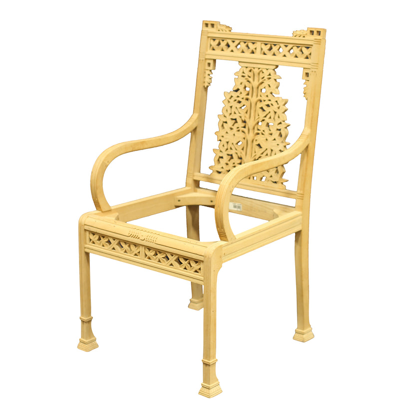 TANGIER ARMCHAIR RAW FRAME