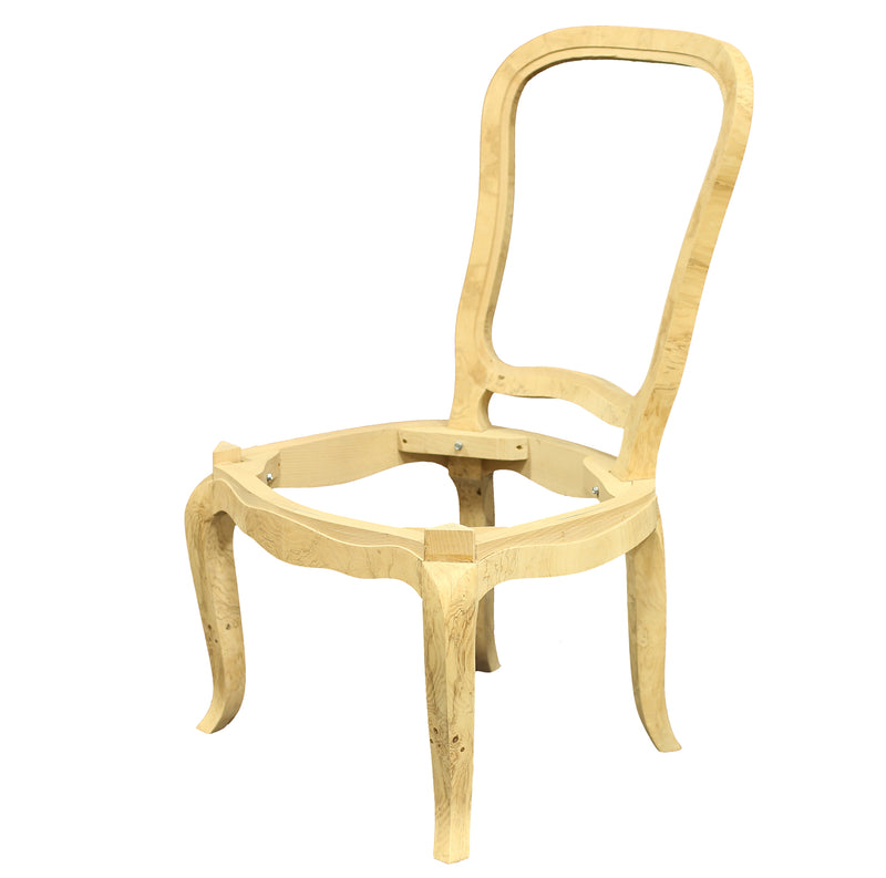 RUHLMANN DINING SIDE CHAIR RAW FRAME