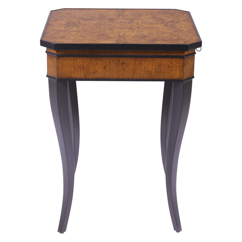 SQUARE BIEDERMEIER SIDE TABLE AUSTRIAN STYLE