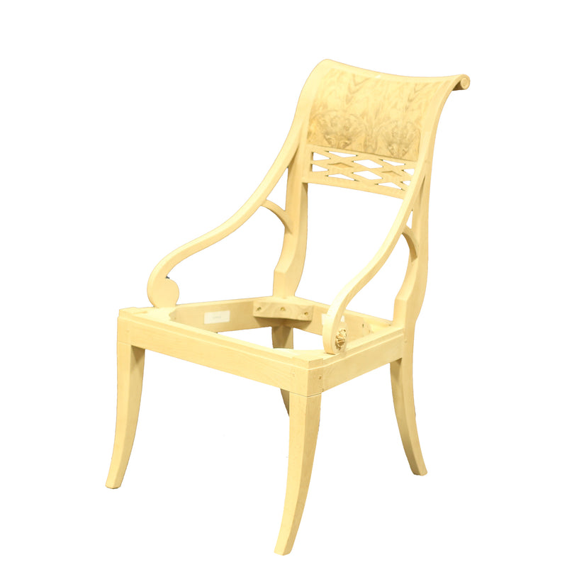 LOUIS PHILIPPE OCCASIONAL CHAIR RAW FRAME