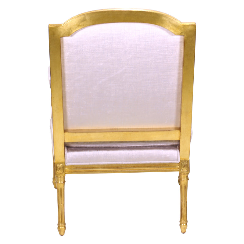 LOUIS XVI CONTINENTAL LOUNGE CHAIR