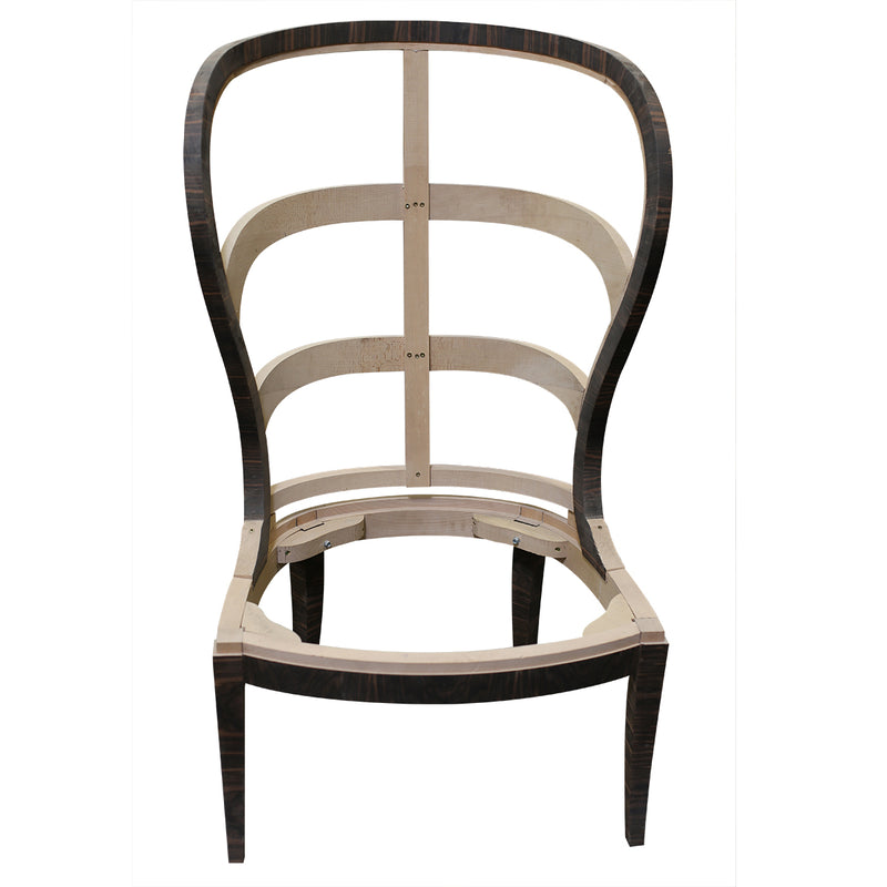 SWEDISH ART DECO CHAIR RAW FRAME
