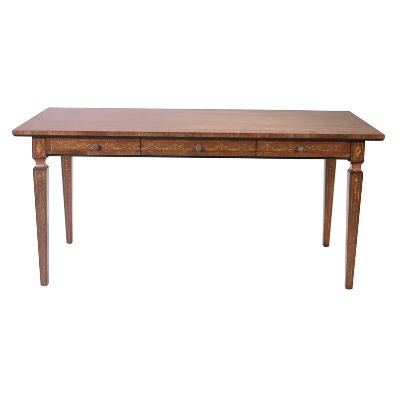 LOUIS XVI STYLE WALNUT DESK