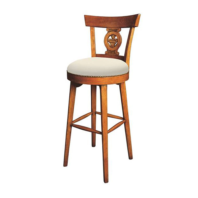 COUNTRY STYLE FRENCH  DIRECTOIRE BARSTOOL