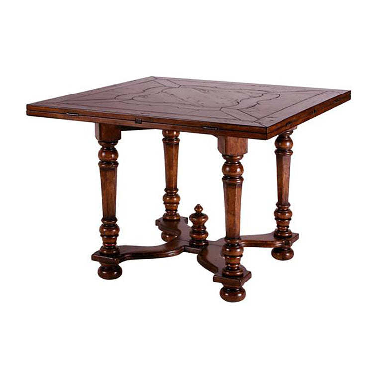 WILLIAM & MARY SQUARE TO ROUND DINING TABLE