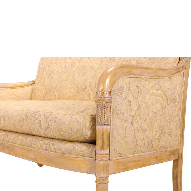 FRENCH EMPIRE OCCASIONAL CHAIR