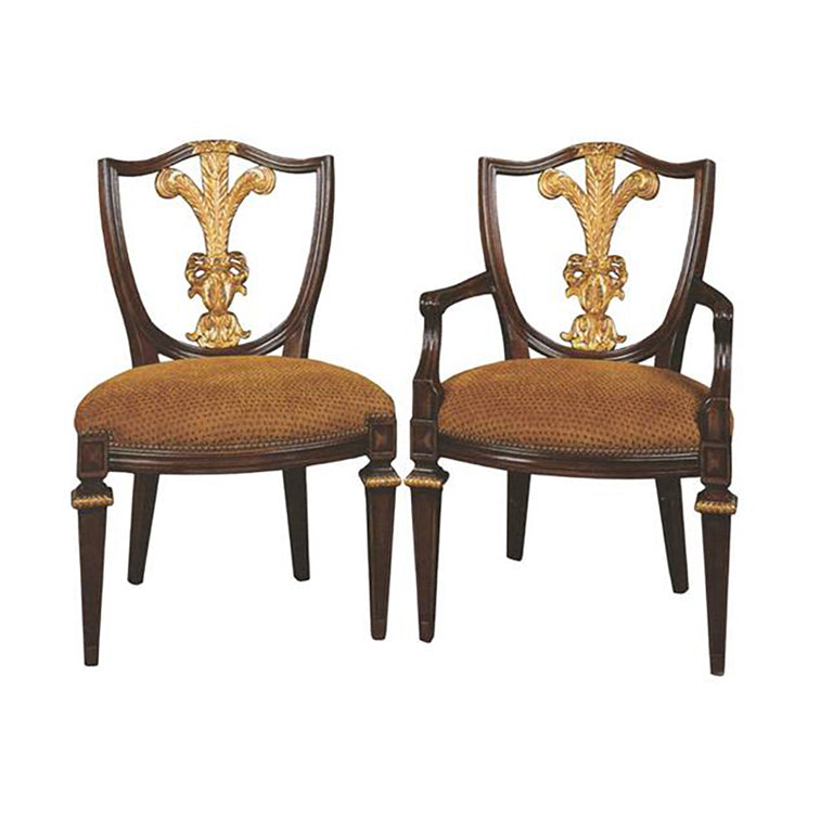 ITALIAN LOUIS XVI STYLE ARM CHAIR