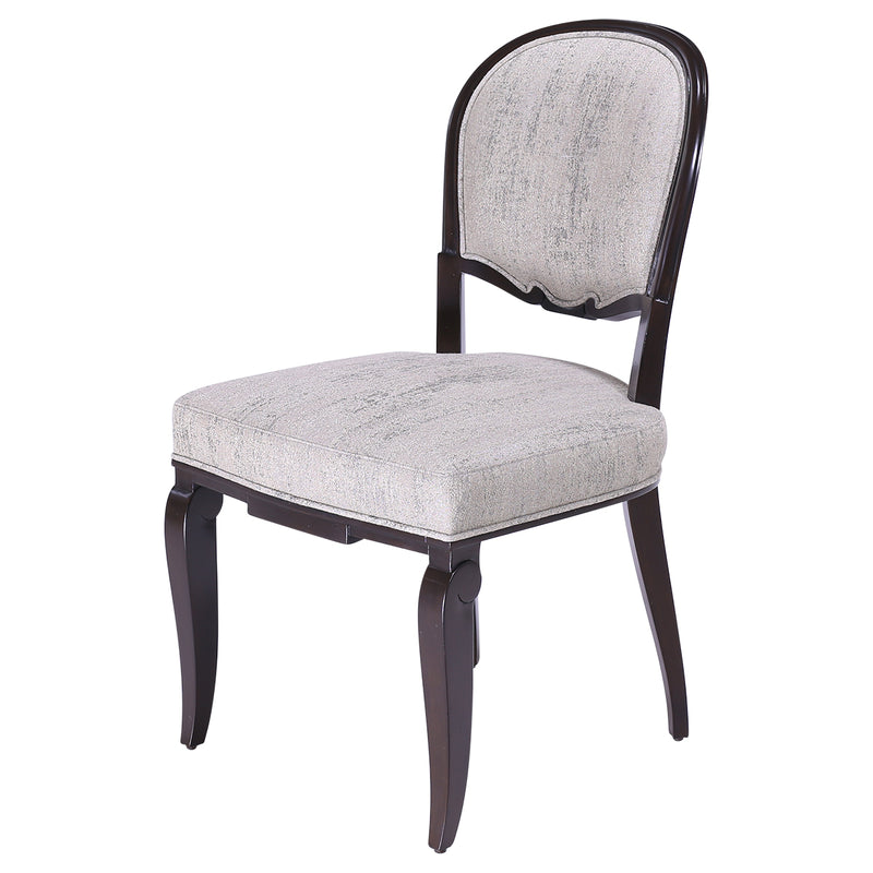 ART DECO DINING SIDE CHAIR,
