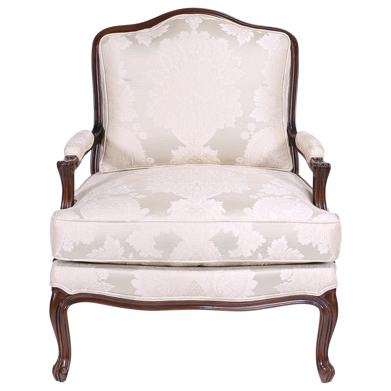 LOUIS XV STYLE LARGE  OCCASIONAL CHAIR