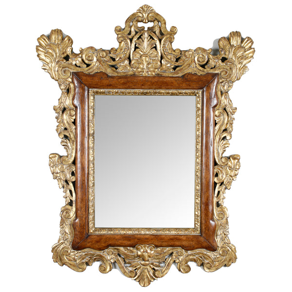 17TH CENTURY ITALIAN MIRROR RAW FRAME