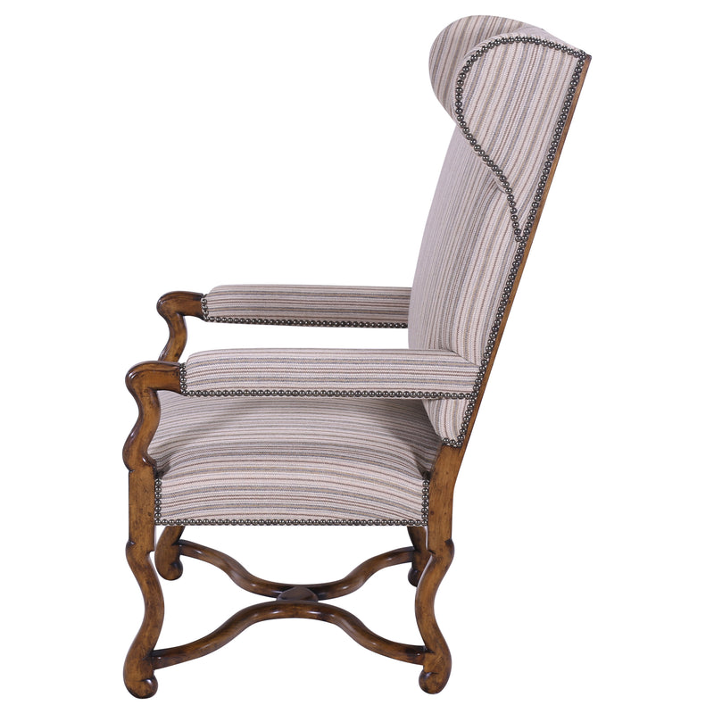 LOUIS XIII STYLE WING CHAIR