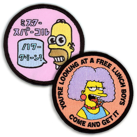 MR SPARKLE AND SELMA PATCH SET