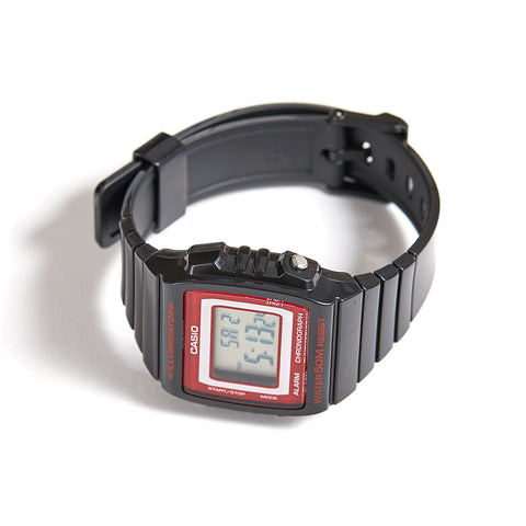 CASIO BLACK RED CLASSIC WATCH
