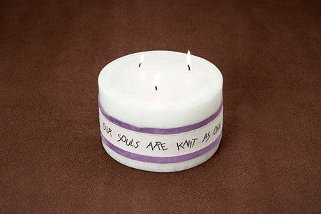 3.5 H x 6 inch diameter candle (3 wicks)