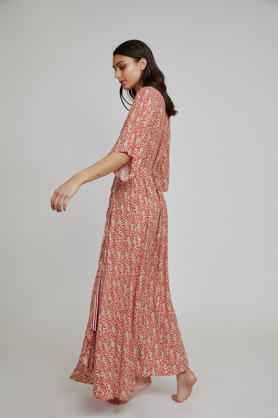 Isla Maxi Wrap Dress