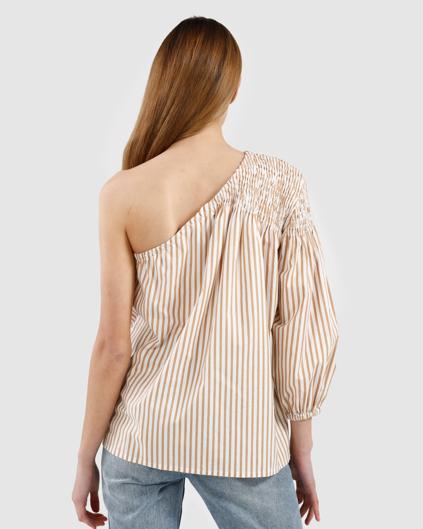 Louise Top / Canary Stripe