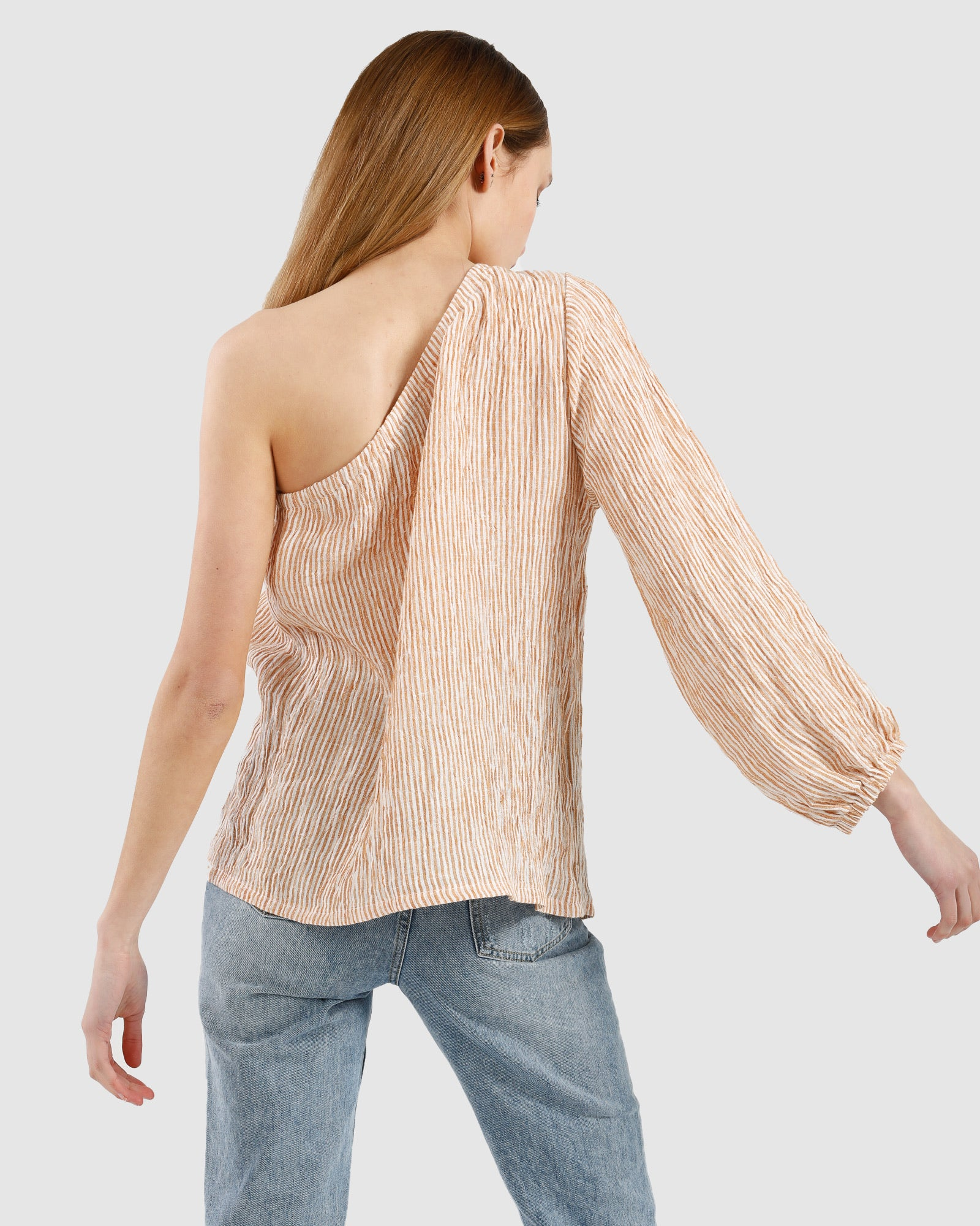 Lora Top / Ginger stripe