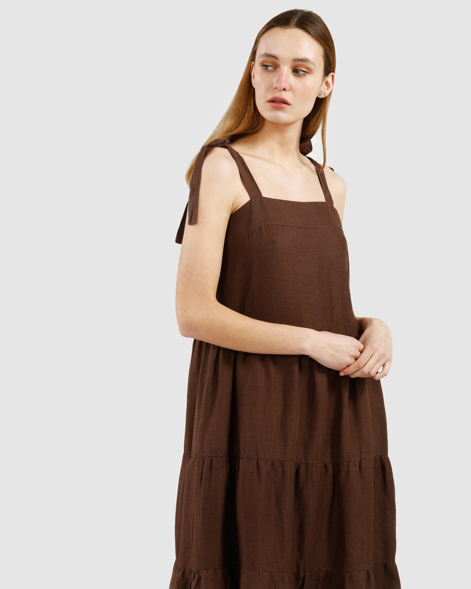 Erin Dress / Walnut
