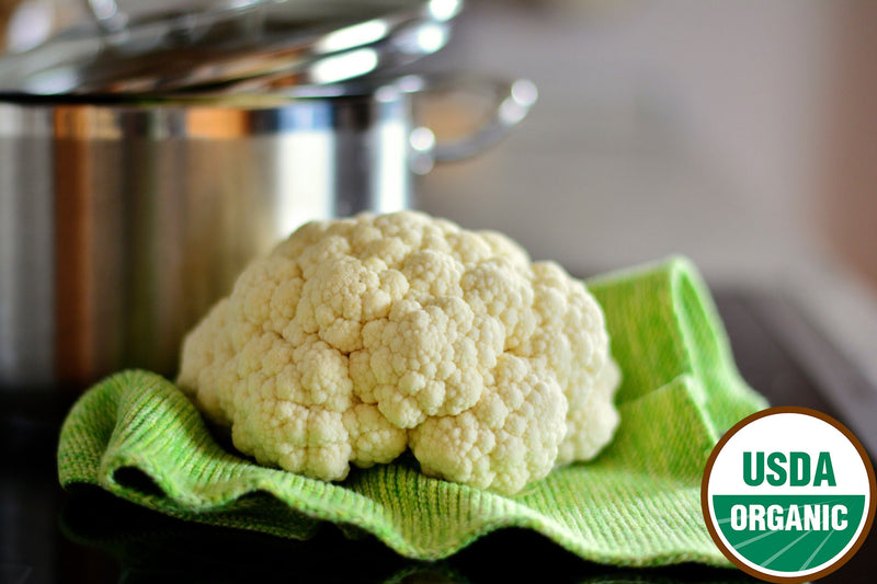 Organic Cauliflower (head)