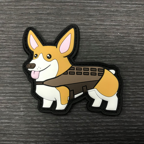 TactiCorgi Patch - Brown [Free Shipping]