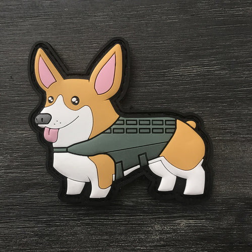 TactiCorgi 2.0 PVC Patch [Free Shipping]