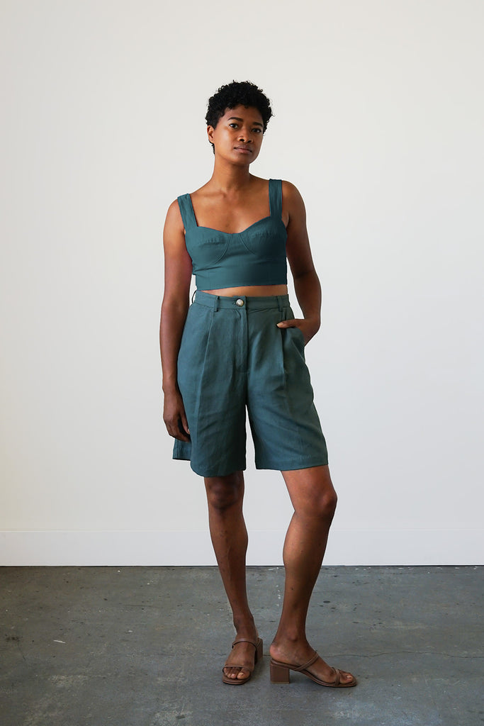 Lido Shorts in Spruce