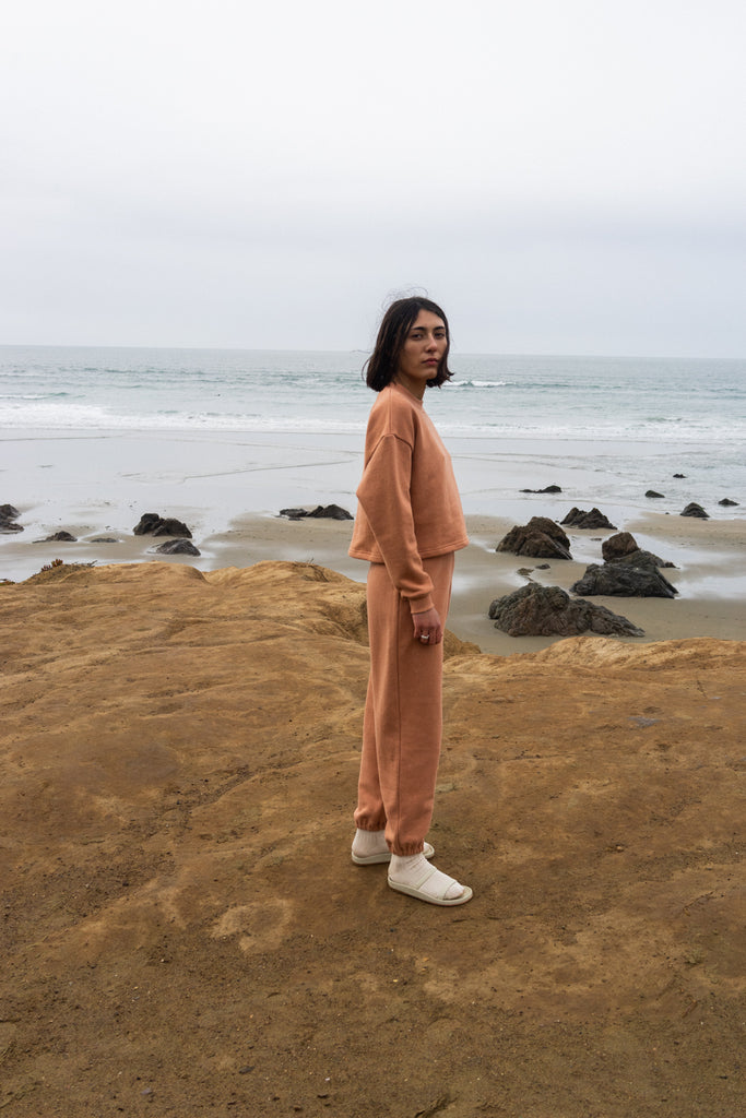 Easy Sweatpants in Clay