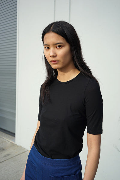 Short Sleeve Tee in Black