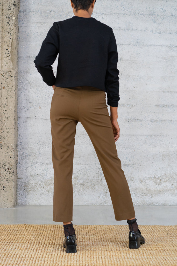 Cigarette Trousers in Bronze