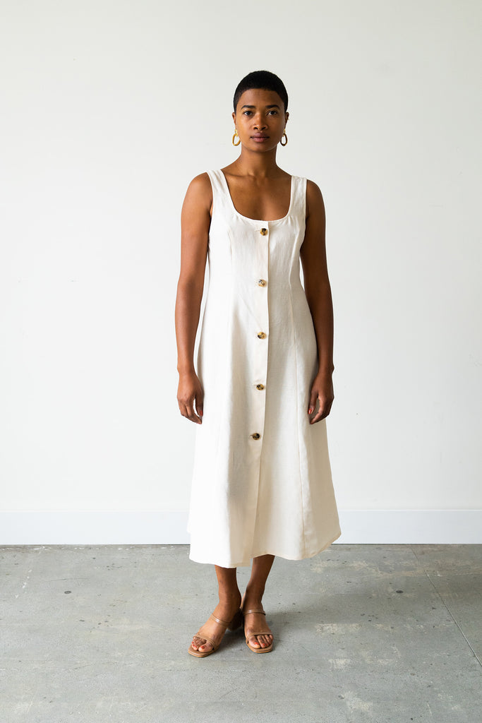 Terrazza Dress in Dove