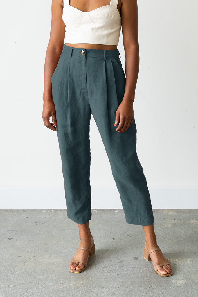 Palma Trousers in Spruce