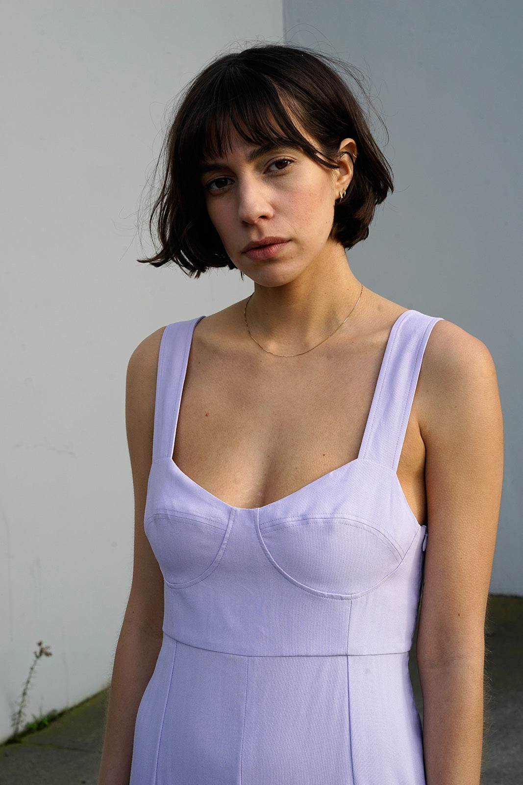 Bralette Dress in Orchid