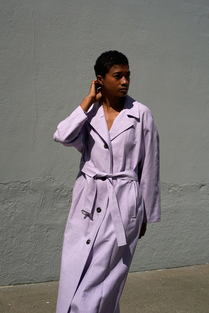Oversized Trench in Orchid