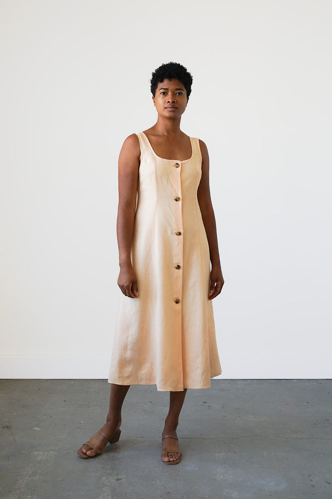 Terrazza Dress in Apricot